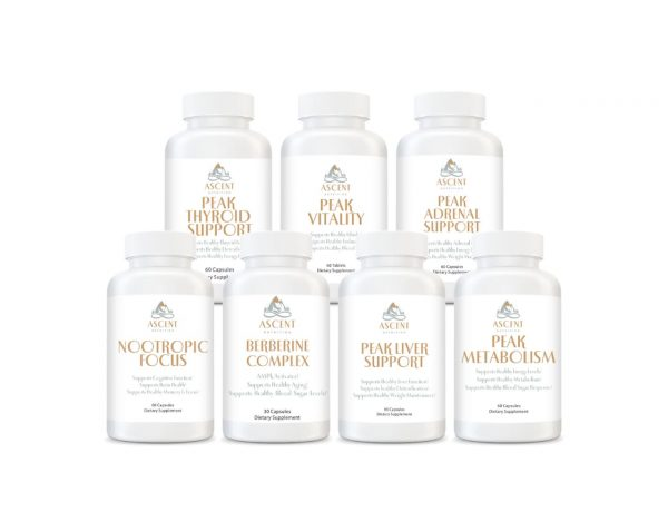 Energy and Vitality Bundle by Ascent Nutrition