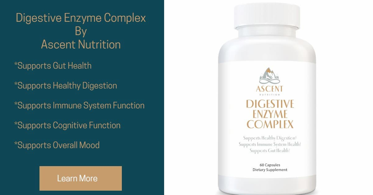 Digestive Enzyme Complex by Ascent Nutrition