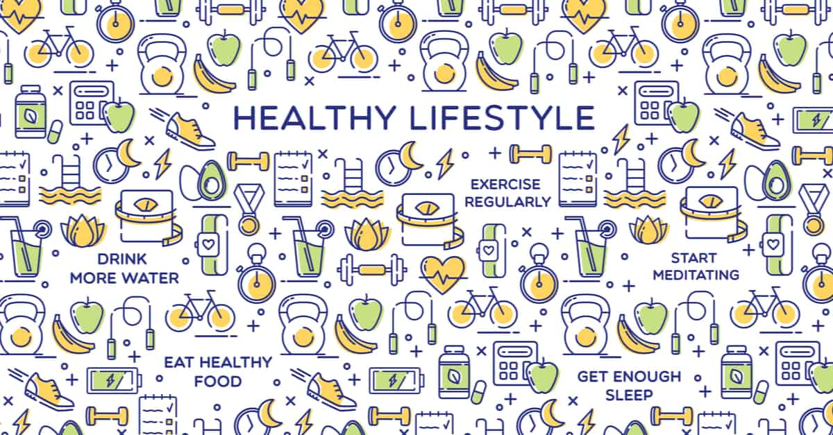 A healthy lifestyle is important