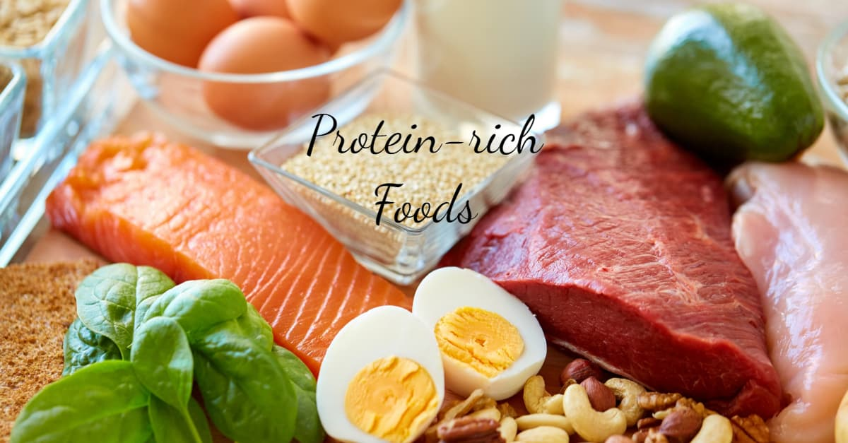 Protein-rich foods which burn 20-30% energy consumed